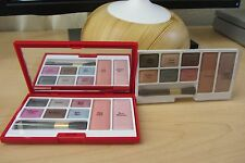 2-in-1 Elizabeth Arden 12 EyeShadow & 4 Blush Makeup Palette COOL & WARM colors