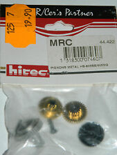 MRC 44.422 HS-605-BB-MG hitec 56397 PIGNON METAL pinion GEAR SET Ritzel PIGNONE