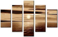 5 panneau taille totale toile numérique large 115x80cm Imprimer Wall Art grace