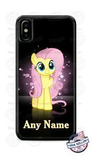 My Little Pony Fluttershy Cartoon Phone Case Cover For iPhone Samsung LG NAME