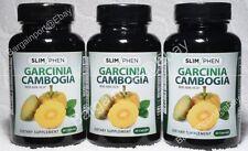 3X ~ SlimPhen Brand Garcinia Cambogia ~ Diet Trio ~ Slim Phen ~ LOT of THREE NEW