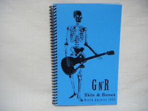 Guns N Roses 1993 Use Your Illusion Skin N Bones Tour Book Itinerary Axl Rose H