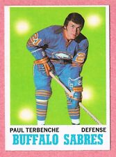 1970-71 70-71 O-PEE-CHEE OPC #123 Paul Terbenche SET BREAK (1)