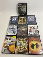 Lot of 10 Used Sony PlayStation 2 PS2 Games All Tested Working!!