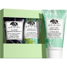 Origins Clear Pores, hydrate & control oil mask trio. Has 3 best selling masks.