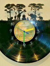Jungle Animals themed record clock