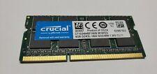 Crucial 1X 8GB DDR3 1600 PC3 12800 Laptop Memory SODIMM CT102464BF160B.M16FED T