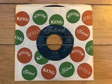 James Brown - Try Me/Tell Me What I Did Wrong 1958 Federal 45-12337 45 Vinyl VG