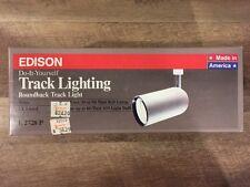 Edison track lighting fixtures ebay track lighting roundback round back lamp whiteb edison e2762p aloadofball Images