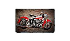 1962 duo glide Bike Motorcycle A4 Retro Metal Sign Aluminium