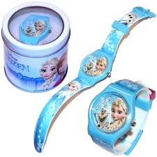Disney Kinder Armbanduhr mit Metallbox Die Eiskönigin Spiderman Minnie Maus Pets
