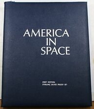America in Space Sterling Silver Medals Full Collection The Franklin Mint