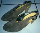 👠 Paul Green Schuhe Peeptoes Gr. 5 Gr. 38 Neuwertig Taube