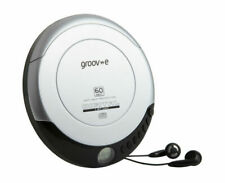 Groove GVPS110SR Retro Series Personal CD Player - Silver