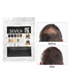 Sevich Refill Hair Fibers Keratin Thickening Building 25,50,100g Pack Fibre Loss