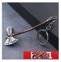 """STB4 THOR STORM BREAKER AX 4"""" tall ! Keychain copper antique silver color  USA"""