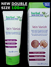 *VEIN VANISH Cream* by Herbal Skin Doctor Spider Broken Capillaries 100% NATURAL