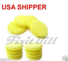Lot 24 - Waxing Polish Foam Sponge Car Wax Applicator Pad - Detailing Pads- Auto