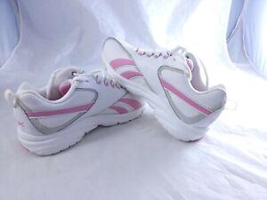 Reebok Corrida White Pink Womens Shoes Sneakwers 8.5 W Issues