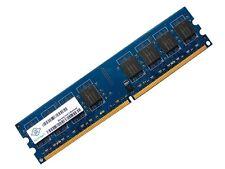 Nanya NT2GT64U8HD0BY-AD PC2-6400U-666 2GB 2Rx8 DDR2 RAM Memory 800MHz CL6
