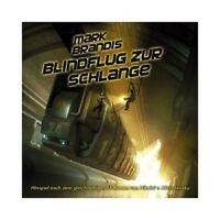 MARK BRANDIS - 24: BLINDFLUG ZUR SCHLANGE  CD  HÖRSPIEL  NEU