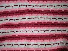 Shades of Pink Double Navajo Afghan