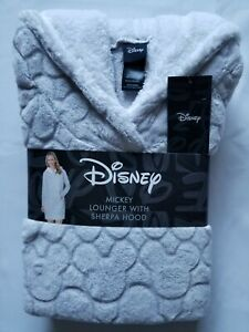 DISNEY Ladies' Lounge Hoodie Sherpa Hooded Harry Potter Mickey Mouse RARE Gift