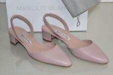 Manolo Blahnik Leather Slingback Heels for Women