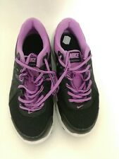 NIKE free run black and purple