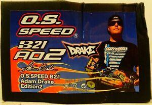 O.S. Speed B21 Adam Drake II Engine/Pipe Combo OSMG2085 BOX DAMAGE!! NO RESERVE