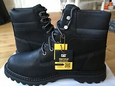 CAT CATERPILLAR Deplete Waterproof Leather Casual Ankle Shoes Boots Mens New