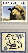 Rsa South Africa South Africa 1972 412-13 x Merino Schaff Lamb Sheeps Animals Mn.