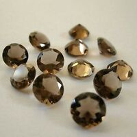 Details about  /10 PCS NATURAL SMOKY QUARTZ 4X6MM FACETED OVAL GEMSTONE WHOLESALE IF QUALITY