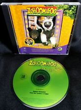 Zoboomafoo Animal Kids WIN/MAC CD ROM Educational, Activity Learning Game.