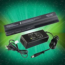 6 CELL Battery + 65W Adapter For HP Compaq Presario CQ40 CQ50 CQ60 Pavilion DV4