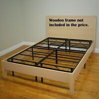 Mattress Bed Frame Base Box Spring Platform Foundation Twin Full Queen King Size