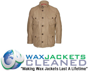 Clean & Rewaxing Service for Hackett Wax Jackets All Makes All Sizes / Colours