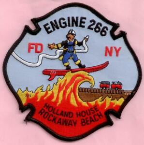 New York City Fire Dept Engine 266 Patch Holland House
