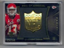 2014 Panini Black Gold NFL Seal of Approval #24 De'Anthony Thomas 74/149