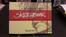 Sketchbook Alessandro Vitti Lateral Studio firmato Marvel DC Comics