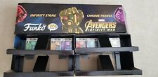 FUNKO POP! MARVEL AVENGERS: INFINITY WAR WALMART THANOS CHROME SET 6 w Display