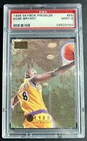 Kobe Bryant Rookie Card, RC #55, 1996 96 Skybox Premium Graded PSA 9 Mint! 🔥