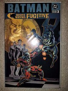DC COMICS: BATMAN: BRUCE WAYNE FUGITIVE - VOLUME 3 - TRADE TPB (2003)
