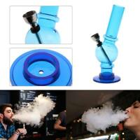 Acrylic Portable Clear Mini Water Bong Pipes Smoking Tobacco Hookah Shisha Gifts