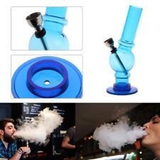 Acrylic Portable Clear Mini Water Bong Pipes Smoking Tobacco Hookah Shisha Gifts