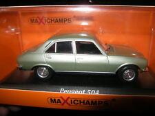1:43 MaXichamps Peugeot 504 1970 lightgreen/hellgrün Nr. 940112501 OVP