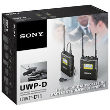 Sony UWP-D11 Wireless Bodypack Lavalier Mic System Replaces UWP-V1 (UWPD11/42)