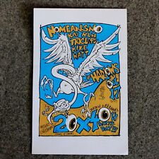 NoMeansNo Poster Punk Concert Band Triclops ! Mike Watt Harlows Paul Imagine