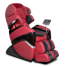 Refurbished Red Osaki Pro Cyber Zero Gravity Massage Chair Recliner + Warranty