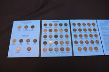 Complete 58 Coin Indian Head Flying Eagle Penny Set 1877 1909 1908 S Key Date